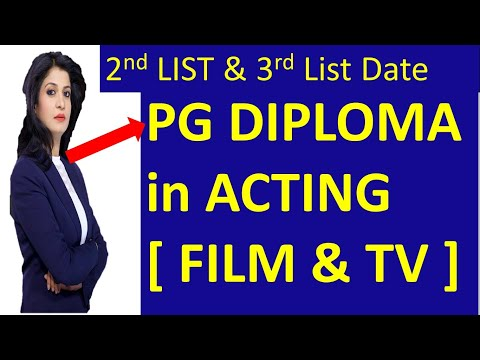 JAMIA PG Diploma In Acting Result| AJK MASS Communication Result| JAMIA Acting Course|Jamia 2nd List