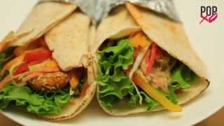 How To Make Falafel Wrap At Home - POPxo Food