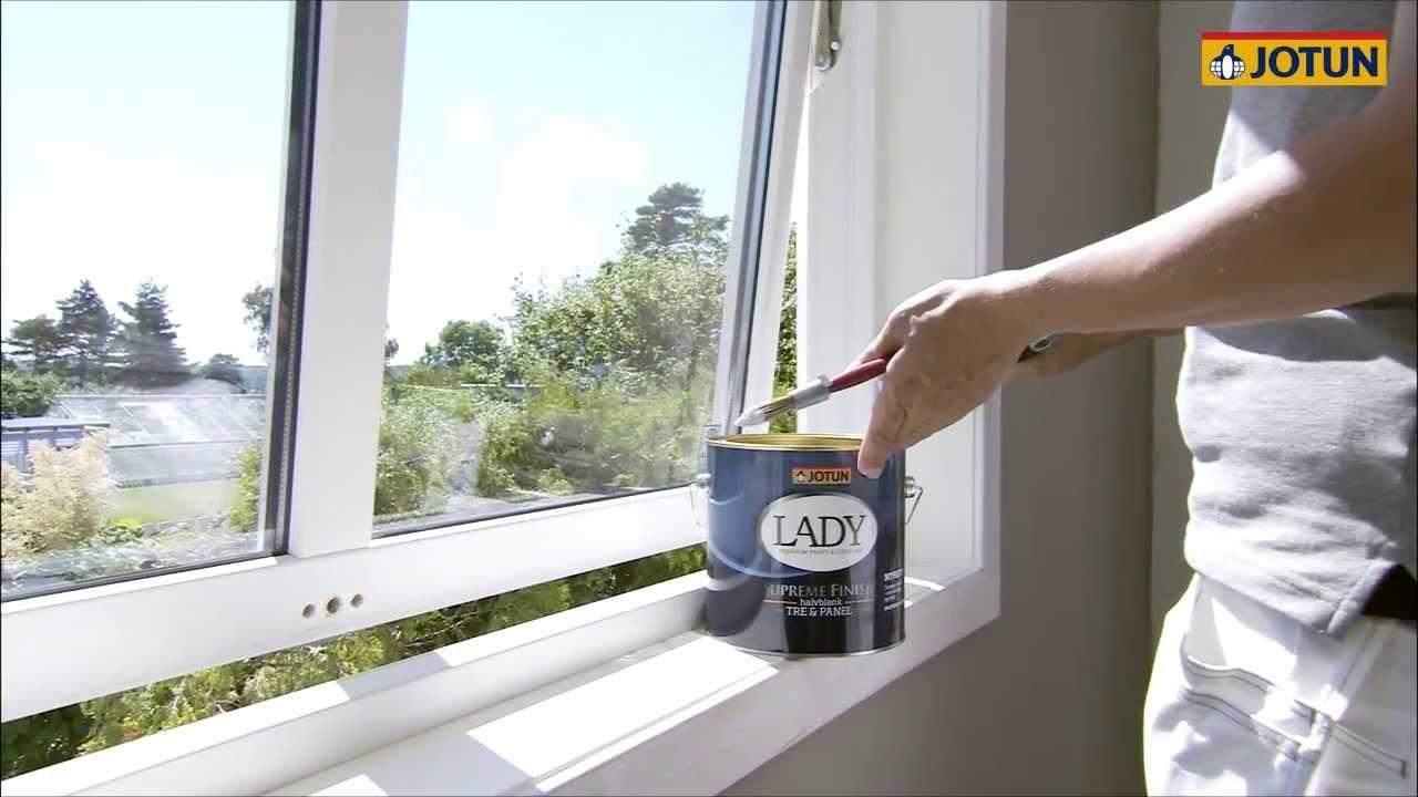 Splinterny Male indendørs vinduer - YouTube HG23