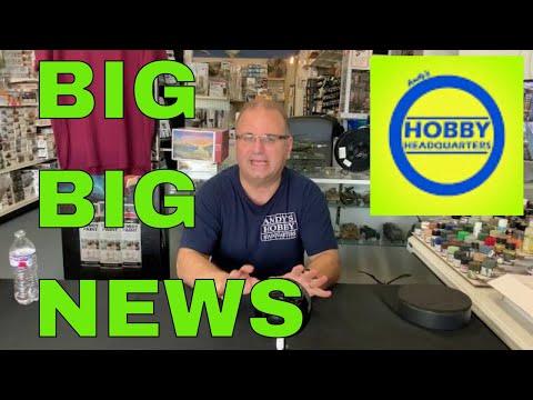 Scale Model Talk #5 Big Big News