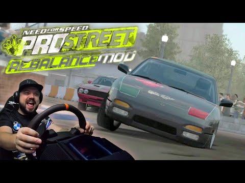 Need For Speed ProStreet Rebalance Mod - Я В ШОКЕ! НЕРЕАЛЬНО СЛОЖНО!