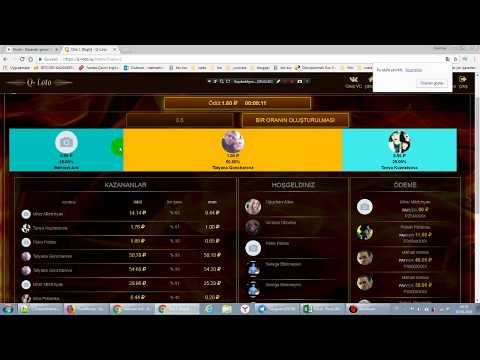nvuti ve q-loto şans oyunu siteleri ( ruble ile)