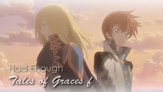 「Had Enough」- Tales of Graces f - Lyric GMV - [30+ Subs!]