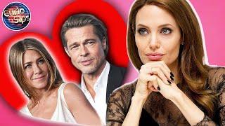 Angelina Jolie Reaction To Brad Pitt & Jennifer Aniston Reunion!