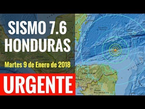 URGENTE I SISMO M7.6 azotó Honduras y se dio ALERTA de TSUNAMI. ¡Sólo fue el susto!: Internautas