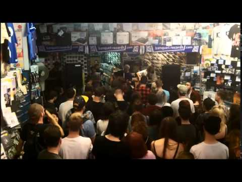 Citizen in-store at Banquet Records