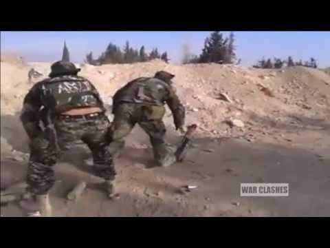 Shia Militia On The Front Line Fighting The FSA And Other Groups In Damascus