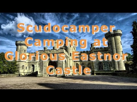 Wonderful Scudocamper Camping at Glorious Eastnor Castle