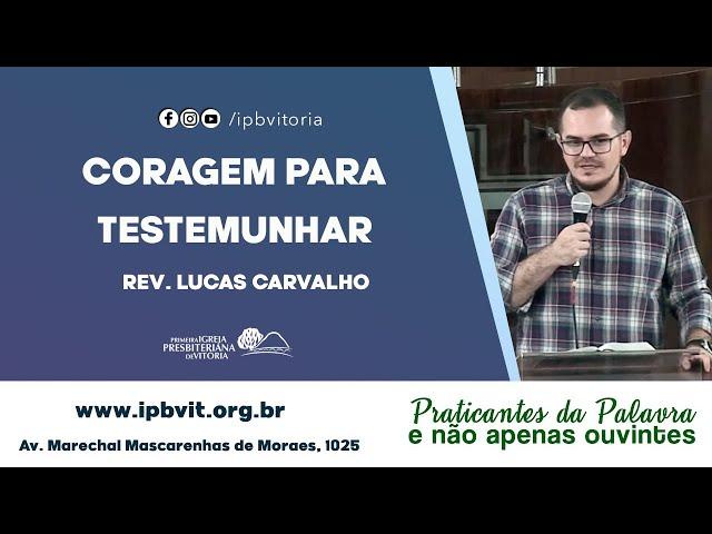 Estudo Bíblico - Rev. Lucas Carvalho - Atos 22.22 23.11