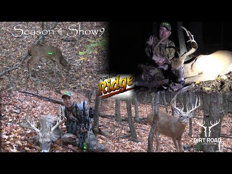 Big Whitetail Bucks//Hunting At Pipeline Ridge