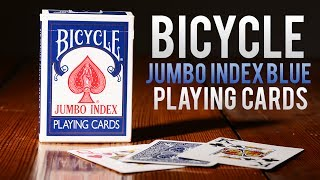 Deck Review - Bicycle Blue Jumbo Index Playing Cards