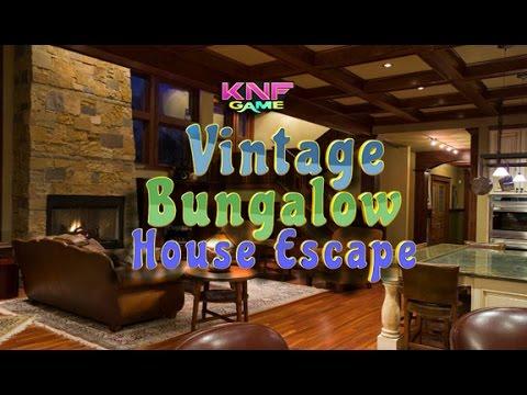 Knf Vintage Bungalow House Escape walkthrough
