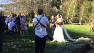 Jose Gonzalez Heartbeats Instrumental - Acoustic Guitar at wedding ceremony