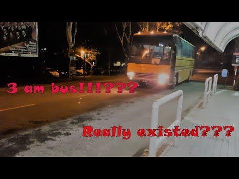 3AM Bus in UUM!!!