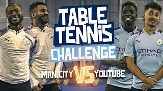 MAHREZ & STERLING vs SV2 & AnEsonGib | TABLE TENNIS CHALLENGE