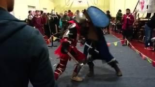 2 бой Капитана Алатристе на турнире