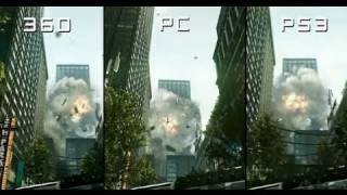 Crysis 2: PS3 vs Xbox 360 vs PC - Console Comparison Montage