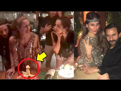 Amrita Arora's 40th Birthday Party In Goa Full Night Party-Kareena,saif,Malaika