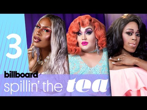 Spillin' The Tea: 'Drag Race' Queens Expand on The Vixen's Dialogue on Racial Bias | Billboard Pride