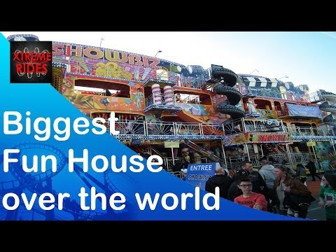 LONG MEGA FUNHOUSE Showbiz & C est Fou Walktrough Graupner, Troyes France
