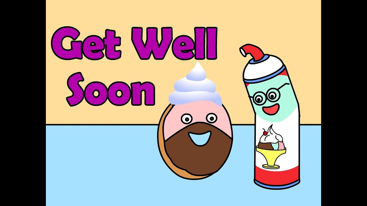 Get Well Soon Kids English Pop Song Youtube