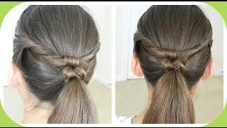 Double Knotted Ponytail / Cola de Caballo con Doble Nudo /Bonita Hair Do