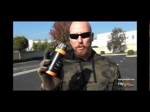 AirSplat - Airsoft Grenade Comparison - AI Grenade and Thunder B Demo