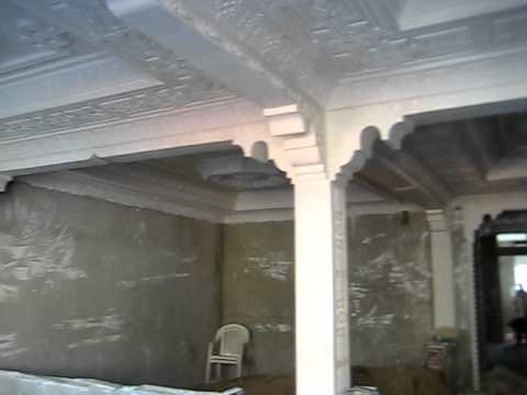 Platre marocain decoration youtube for Decoration de platre 2014