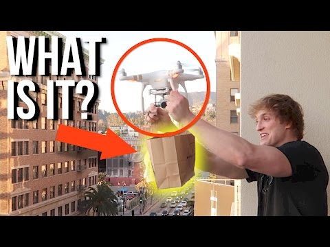 Thumbnail: SOMEONE DRONED ME A GIFT!