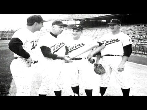 SEA@MIN: Twins celebrate 1965 American League Champs