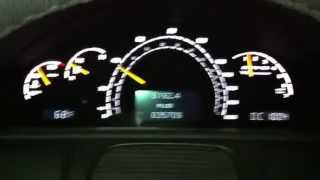 Mercedes CL55 AMG Driving with HARD Accelerations