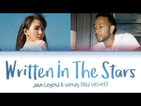 WENDY (of Red Velvet) X John Legend - 'Written In The Stars' LYRICS Mp3