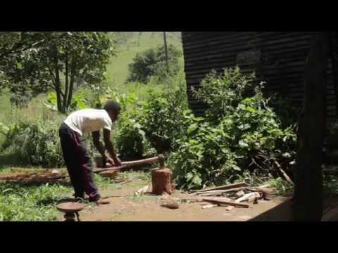 Brewing Coffee in Chimanimani, Zimbabwe, below the Chimanimani Mountains