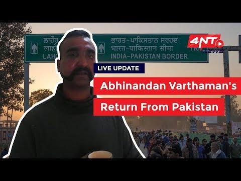 Abhinandan Varthaman's Return From Pakistan Live News: Wagah-Attari Border