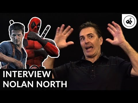 Nolan North : NATHAN FILLION  DEADPOOL  UNCHARTED