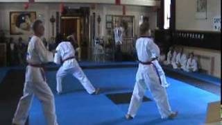 Boise Tang Soo Do Black Belt Test Chil-Sung IL Roh form