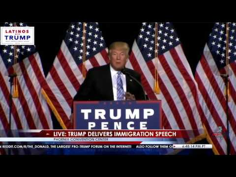 Trump En Espanol: Immigration Speech
