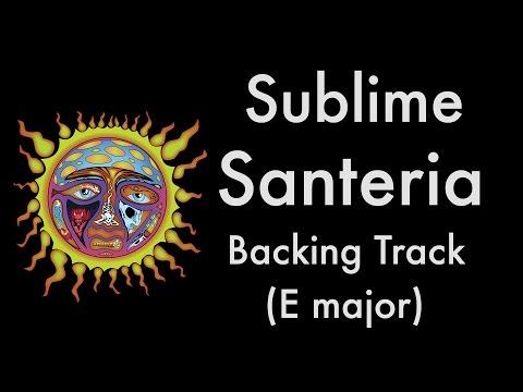 Sublime - Santeria (Reggae Backing Track in E Major)