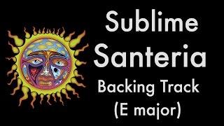 Download Sublime - Santeria (Reggae Backing Track in E Major)