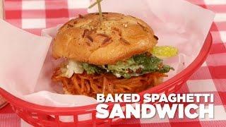 How to Make a Baked Spaghetti Sandwich  MyRecipes