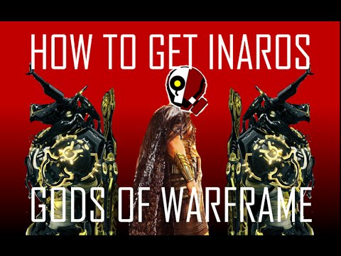 Warfarm: How to get INAROS FAST   Quest Glyphs Explained!