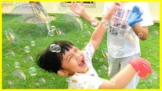 Lomba Tangkap Gelembung Sabun ! Dimitri Unboxing Mainan Anak Laki-Laki & Mainan Anak Perempuan
