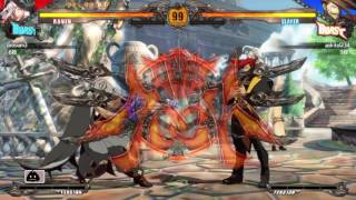 しゃむ(レイヴン)vs青木(スレイヤー) GUILTY GEAR Xrd -REVELATOR- ...