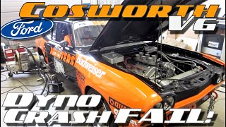 Ford Capri RS 2600 Cosworth V6 dyno crash