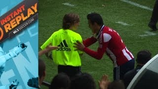 Instant Replay: Ball boy at center stage | Punch thrown in Columbus?