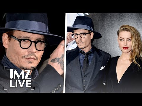 Johnny Depp Files New Legal Docs Claiming Proof He Never Struck Amber Heard | TMZ Live