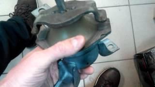 Реставрация опоры двигателя правой Лансер 9 Lancer ІХ полиуретаном