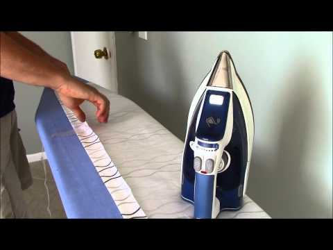 Hemming a Curtain with IKEA SY Fabric Glue Tape