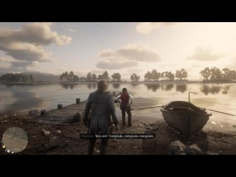Red Dead Redemption 2 - Fishing Trip With Dutch And Josea