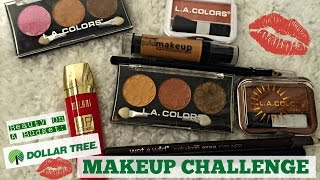 BEAUTY ON A BUDGET: Dollar Tree Makeup Challenge | Affordable Makeup!